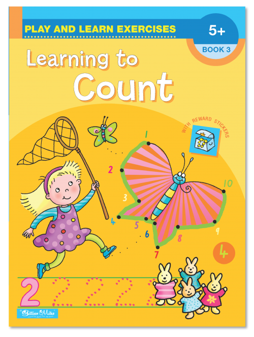 Play and Learn - Learning to Count Book 3