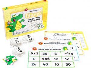 Ed Vantage - Beat The Crocodile Multiplication Bingo