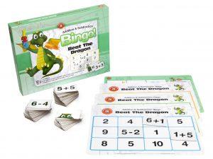 Ed Vantage  - Beat The Dragon Addition and Subtraction Bingo