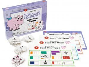 Ed Vantage - Beat The Hippo Fractions Bingo