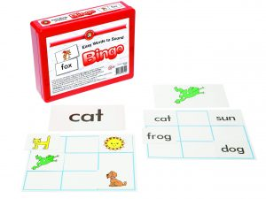 Learning Can Be Fun - Easy Words to Sound Bingo - 9 boards, 40 cards