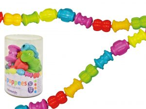 Play and Learn - Poppees Snap together Beads