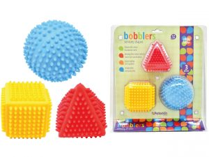 Play and Learn - Bobblers Sensory Shape Set