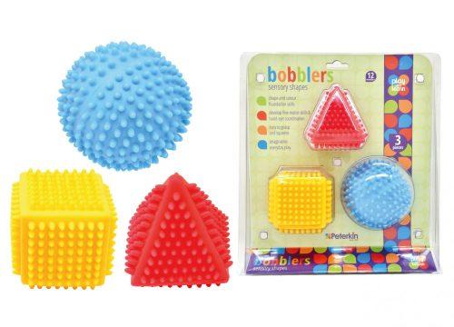 Play and Learn - Bobblers Sensory Shape Set