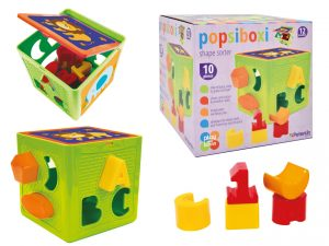 Play and Learn -Popsiboxi Shape Sorter