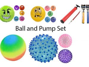 Ball and Pump Set