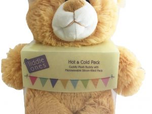 Hot and Cold Pack - Plush Teddy with Silicon pack