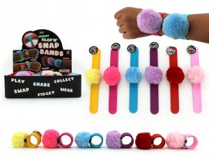 Fluffy Wrist Band Pack of 3 - Colour Mix 2
