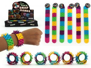 Spiky Wrist Band Pack of 3 - Colour Mix 1