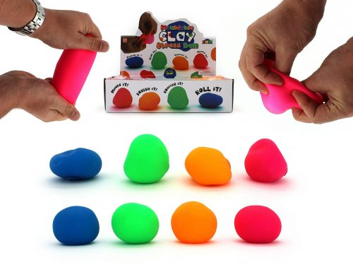 Stress Ball - Mouldable - Pack of 3