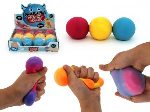 Change of Colour Stress Ball - Pack of 3
