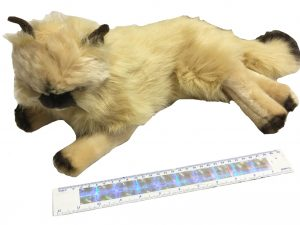 Nana's Weighted Toys - Violet the 1kg Fluffy Cat