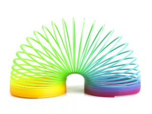Rainbow Slinky (Magic Spring) - Pack of 3