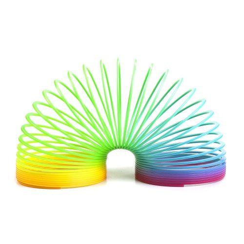 Rainbow Slinky (Magic Spring) - Pack of 3