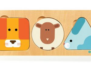 Djeco - Wooden Animal Basics Puzzle