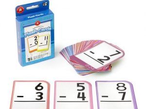 Learning Can Be Fun - Subtraction 0-15 Flash Cards