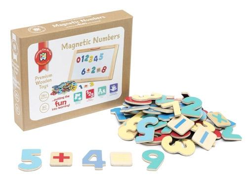 Learning Can Be Fun - Magnetic Numbers Set of 60 pieces