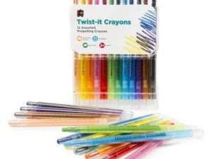 Educational Colours - Twist-It Crayons Pk of 12