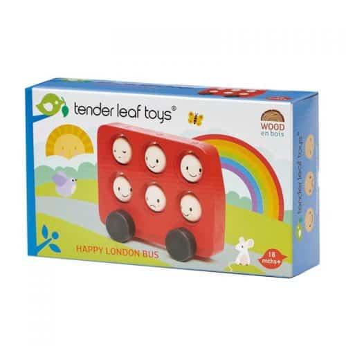 Tenderleaf Toys - Happy London Bus