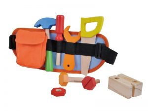 Wooden Tools on Fabric Tool Belt