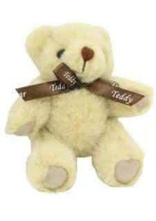 Mini Jointed Teddy Bear