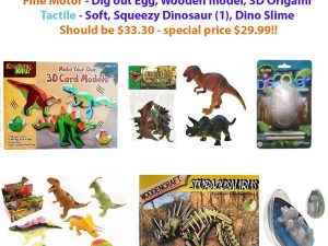 Dinosaur Themed Collection - Excite the Senses!