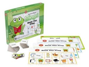 Ed-Vantage - Beat the Frog Rhyming Words Bingo