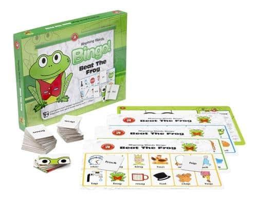 Ed-Vantage - Beat the Frog Rhyming Words Bingo