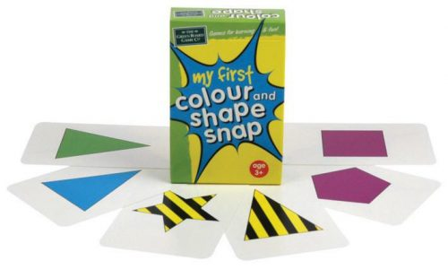 Green Boardgames - My 1st Colour & Shape Snap Cards