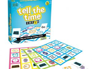 Green Boardgames - Tell the Time Lotto
