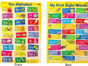 Ed-Vantage Alphabet/My First Sight Words Wall Chart