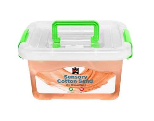 Ed-Vantage Sensory Cotton Sand - Orange 2kg
