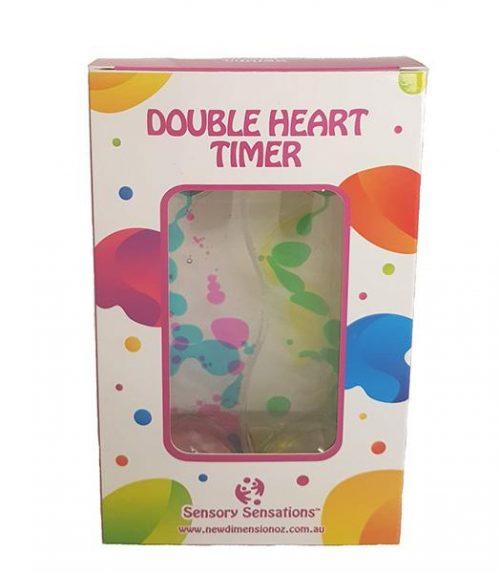 Sensory Sensations - Double Heart Liquid Motion Timer