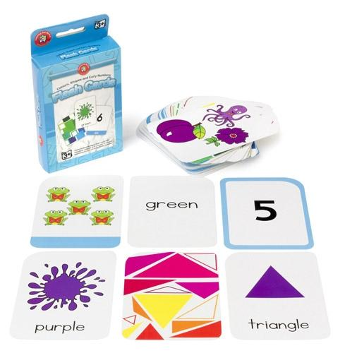Learning Can Be Fun - Colour, Shape and Number Flash Cards