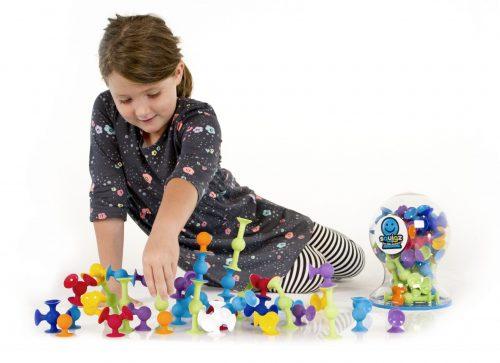 Fat Brain Toys - Squigz Deluxe Set 50 pces