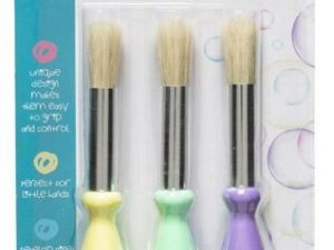 First Creations -  Easi Grip Paint Brushes - Pack of 3