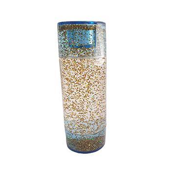 Sensory Sensations Liquid Timer - Glitter Tube Gold - Liquid Motion
