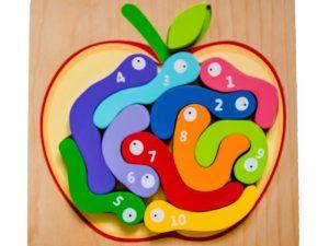 Kiddie Connect - Worm Puzzle