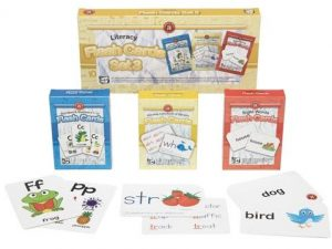 Ed Vantage Literacy Flash Cards Set of 3
