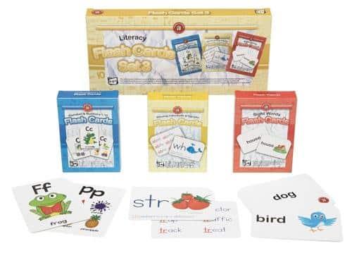 Ed Vantage Literacy Flash Cards Set of 3