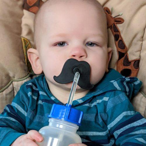 Ark Therapeutic - Mustache Straw Topper