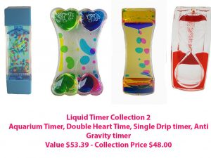 Sensory Sensations Liquid Timer - Collection 2