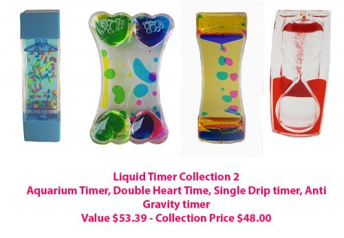 Sensory Sensations Liquid Timer - Collection 2