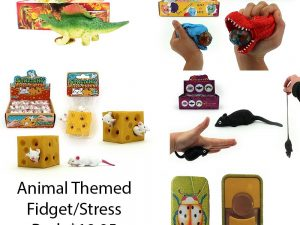 Sensory Sensations - Animal Themed Fidget/Stress Pack