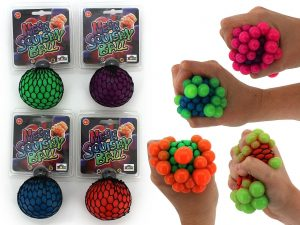 Squishy MeshStress Ball - Pack of 3