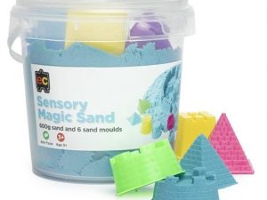 Ed-Vantage Sensory Cotton Sand with Moulds- 600g Tub