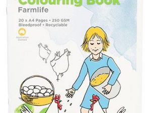 Educational Colours -  Colouring Book - Farm Life 20 pages