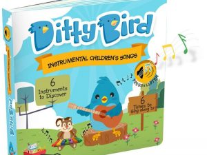 Ditty Bird - Instrumental Children's Songs Board Book