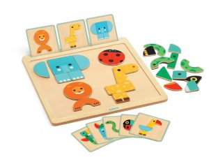 Djeco - Geo Basic Wooden Board