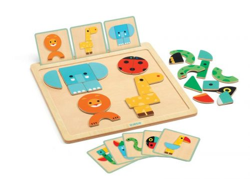 Djeco - Geo Basic Wooden Board